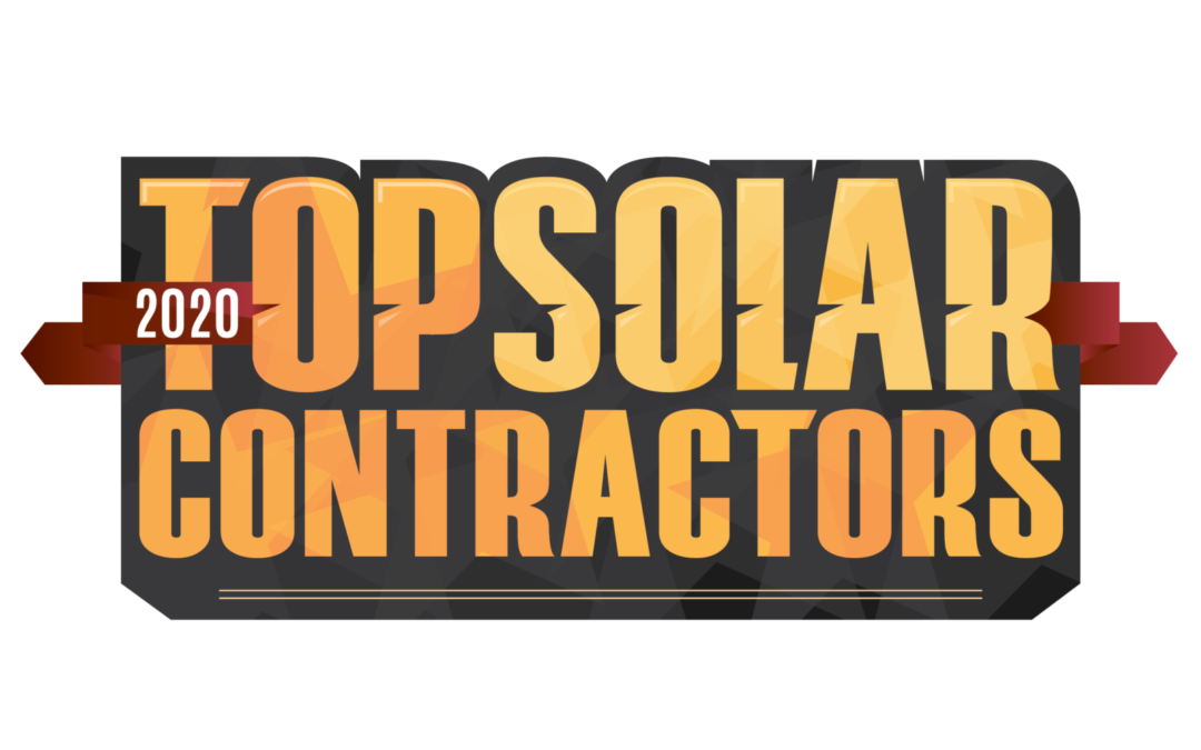 SMART ENERGY featured on 2020 Top Solar Contractors List