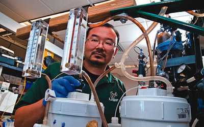USF invents Solar-Powered wastewater treatment device