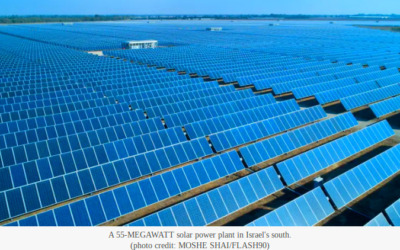 The Largest Solar Energy Field in the US, to be Built by an Israeli Company